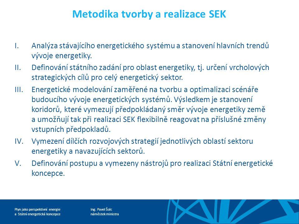 Ing. Pavel Šolc náměstek ministra Plyn jako perspektivní energie a Státní energetická koncepce
