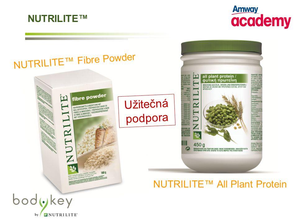 Užitečná podpora NUTRILITE™ Fibre Powder NUTRILITE™ All Plant Protein NUTRILITE™