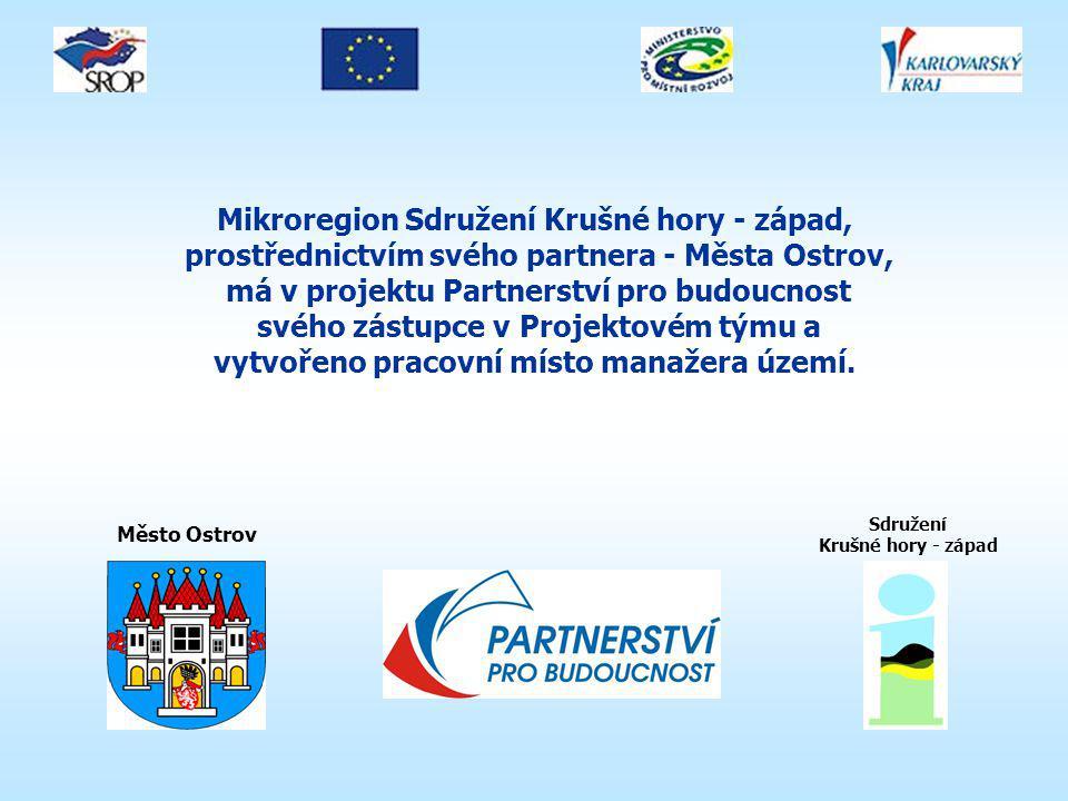 Motivací mikroregionu SKH-Z a Města Ostrov pro zapojení do Projektu Partnerství pro budoucnost je kromě jiného také: získávání nových zkušeností při přípravě a realizaci rozvojových projektů, možnost aktivního zapojení do přípravy regionu pro plánovací období EU 2007 - 13, navázání spolupráce a partnerství s různými subjekty v regionu i mimo něj, získávání, sdílení a předávání aktuálních informací, které mohou ovlivnit rozvoj kraje, mikroregionu i jednotlivých obcí.