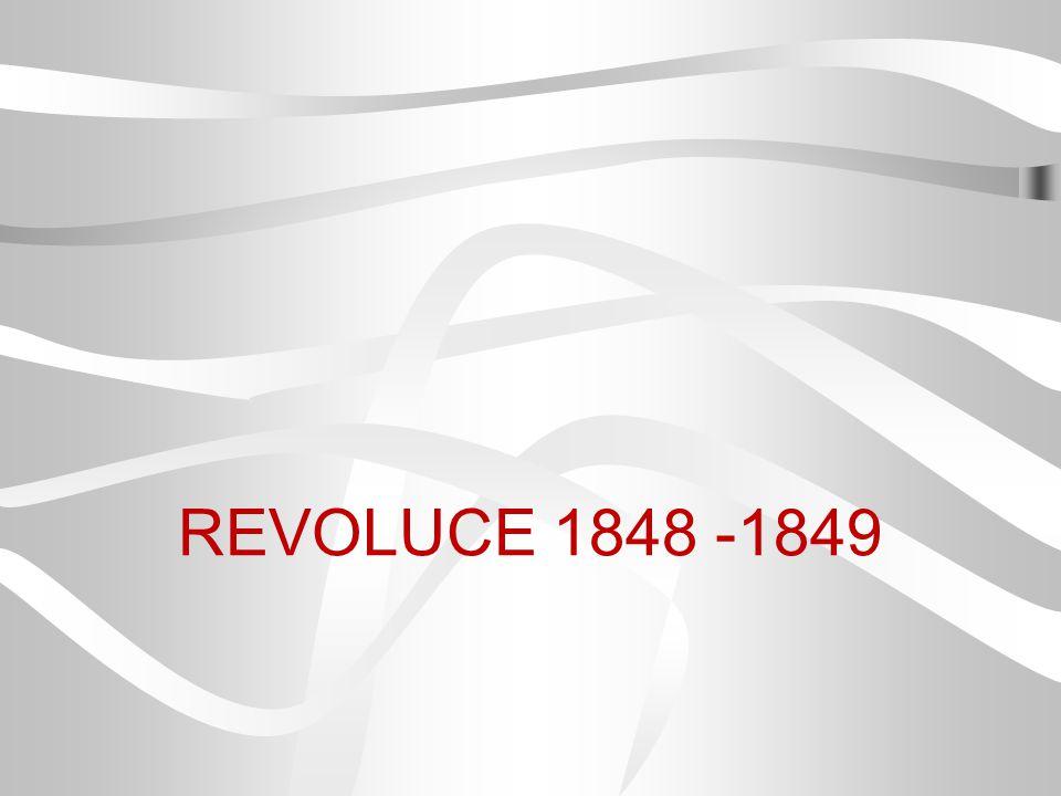 REVOLUCE 1848 -1849