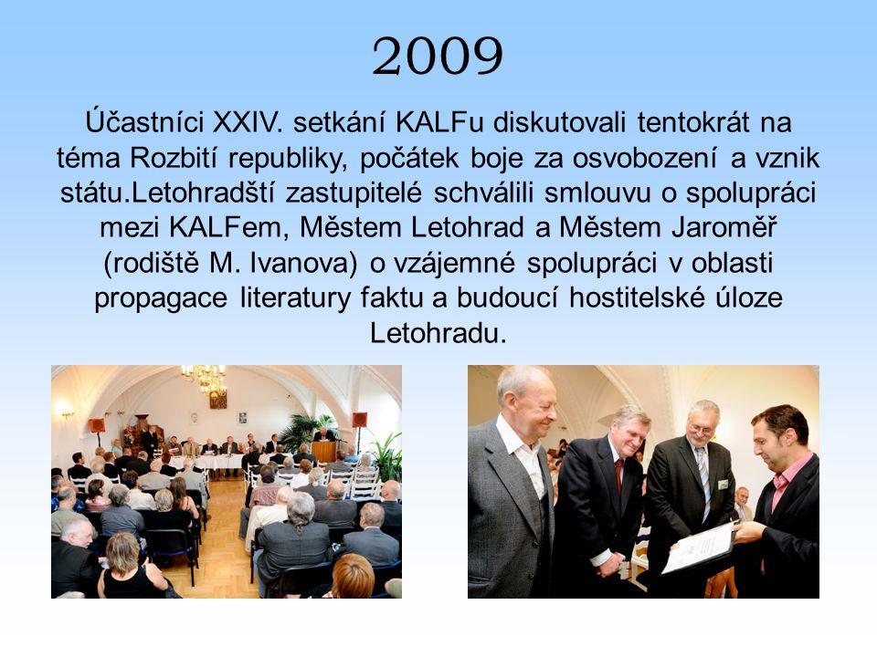 2009 Účastníci XXIV.