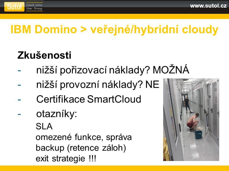 www.sutol.cz Zkušenosti -nižší pořizovací náklady.
