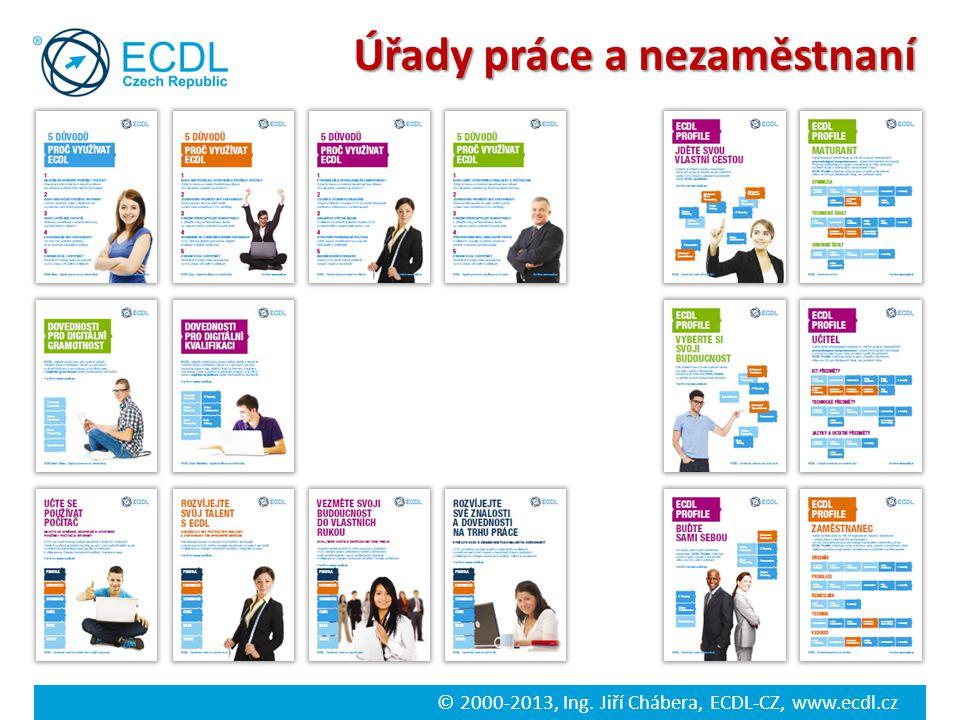 © 2000-2013, Ing. Jiří Chábera, ECDL-CZ, www.ecdl.cz Úřady práce a nezaměstnaní