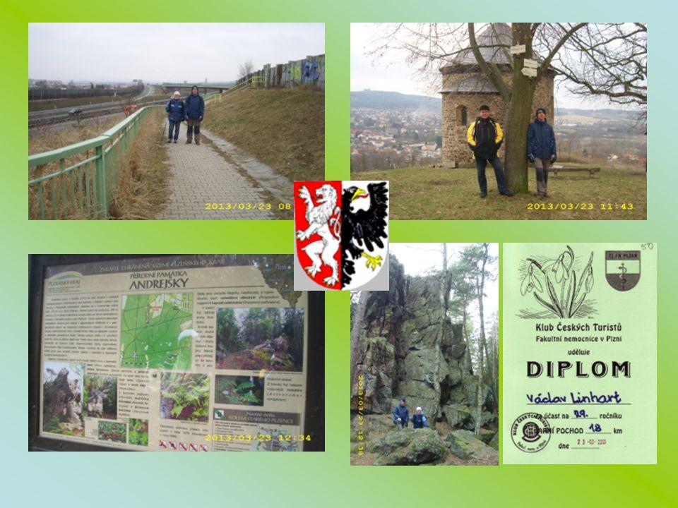 23.3.2013 Jaro ne jaro, sněhu je ještě dost jdeme pochod FN Plzeň – 18 km