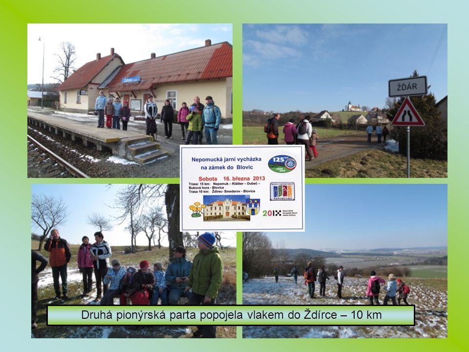 Druhá pionýrská parta popojela vlakem do Ždírce – 10 km