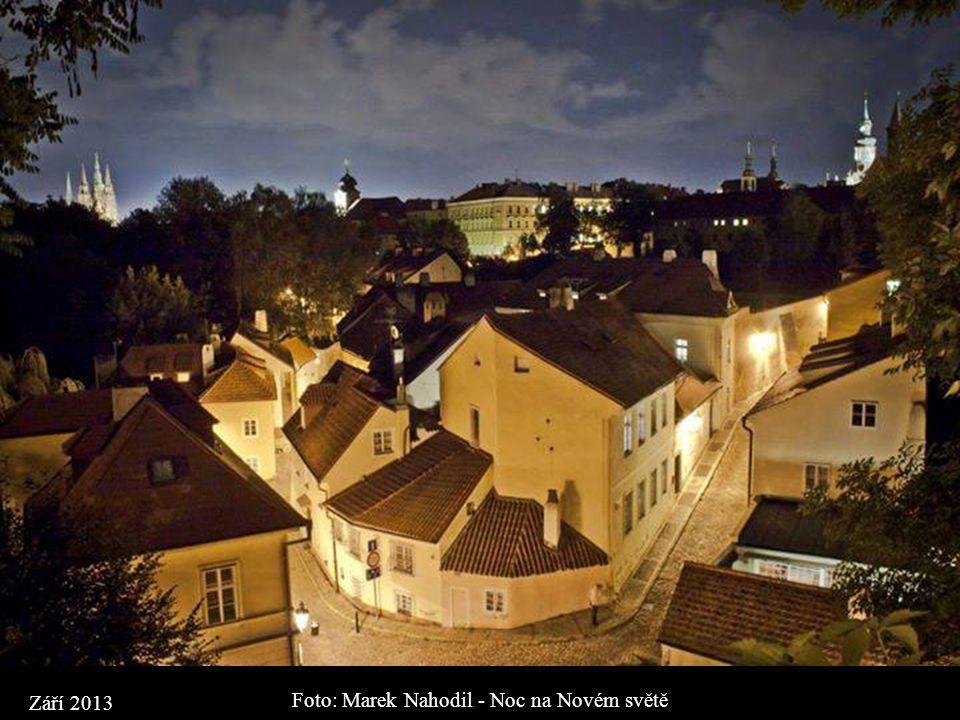 Foto: Karel Dobeš - Praha bude hlídat Vaše sny. Dobrou noc. Září 2013