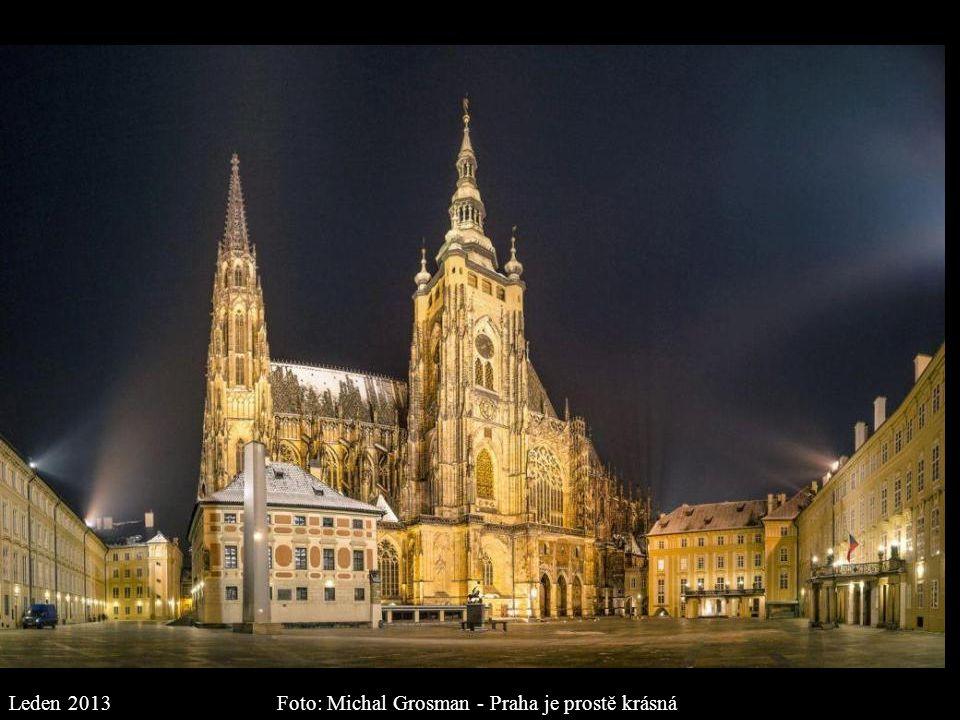 Foto: Michal Grosman - Praha je prostě krásná Leden 2013