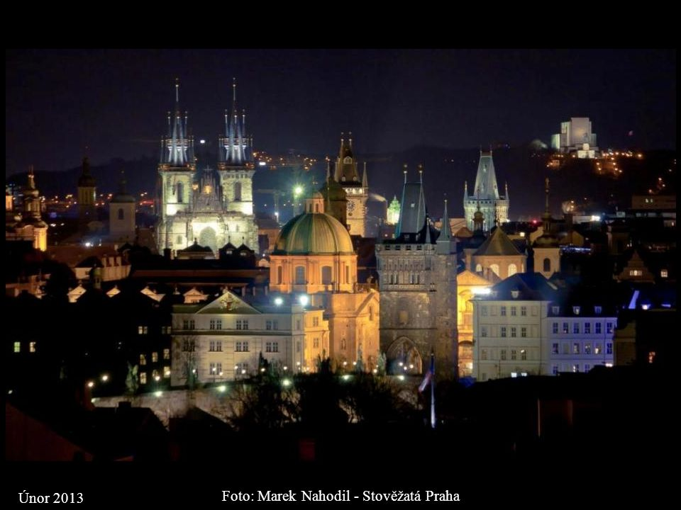 Foto: Marek Nahodil - Stověžatá Praha Únor 2013