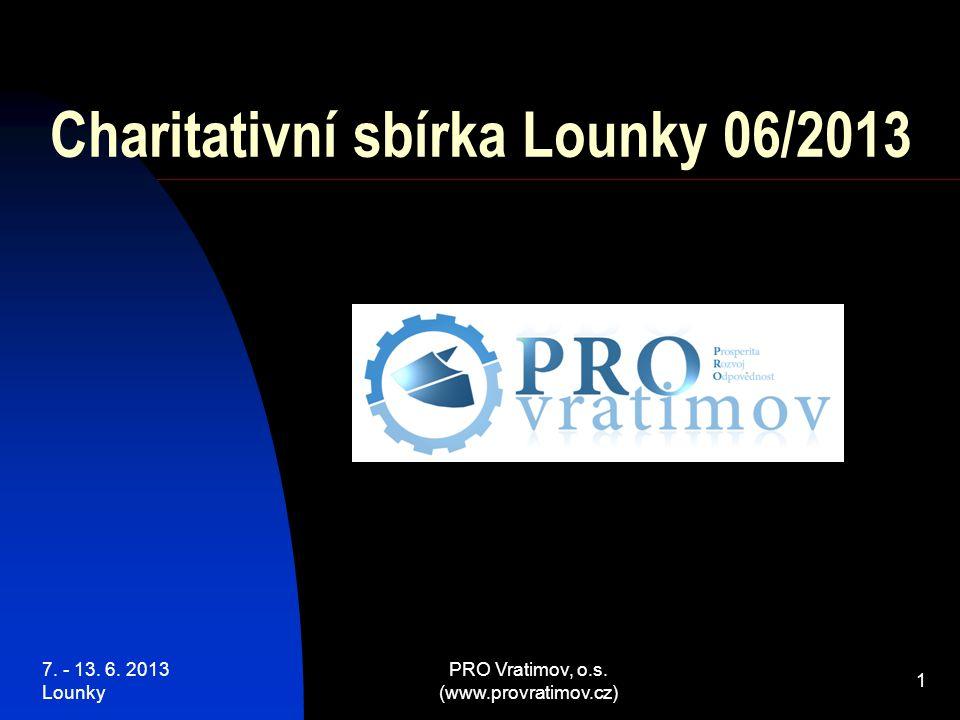 7. - 13. 6. 2013 Lounky PRO Vratimov, o.s. (www.provratimov.cz) 42