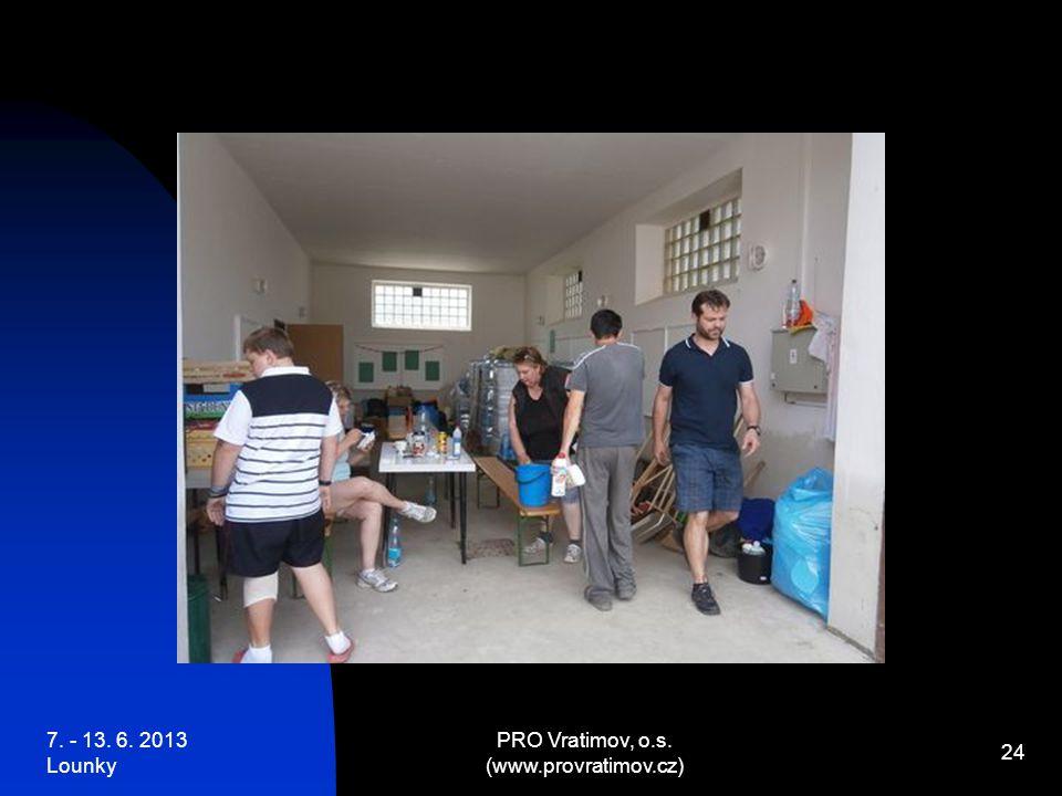 7. - 13. 6. 2013 Lounky PRO Vratimov, o.s. (www.provratimov.cz) 24