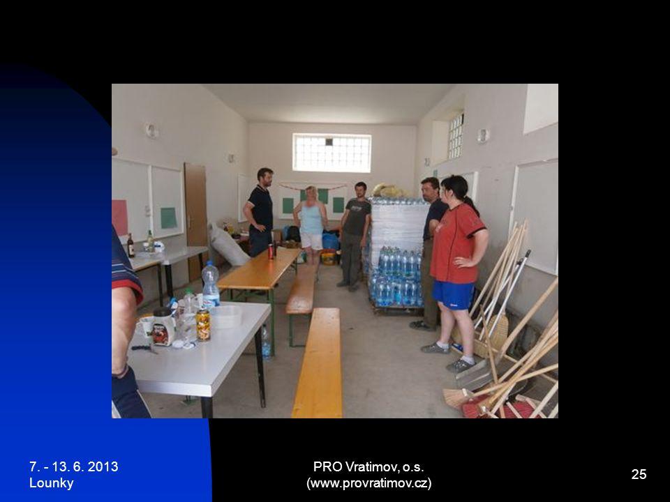 7. - 13. 6. 2013 Lounky PRO Vratimov, o.s. (www.provratimov.cz) 25