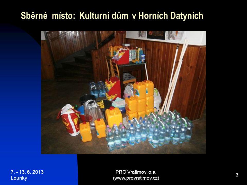 7.- 13. 6. 2013 Lounky PRO Vratimov, o.s.