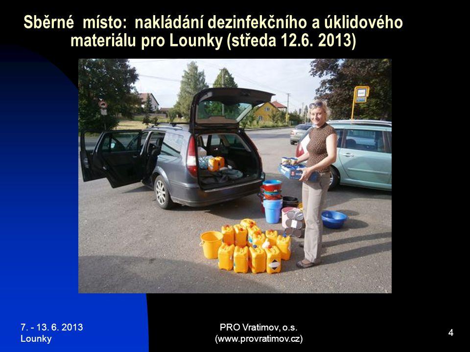 7. - 13. 6. 2013 Lounky PRO Vratimov, o.s. (www.provratimov.cz) 15