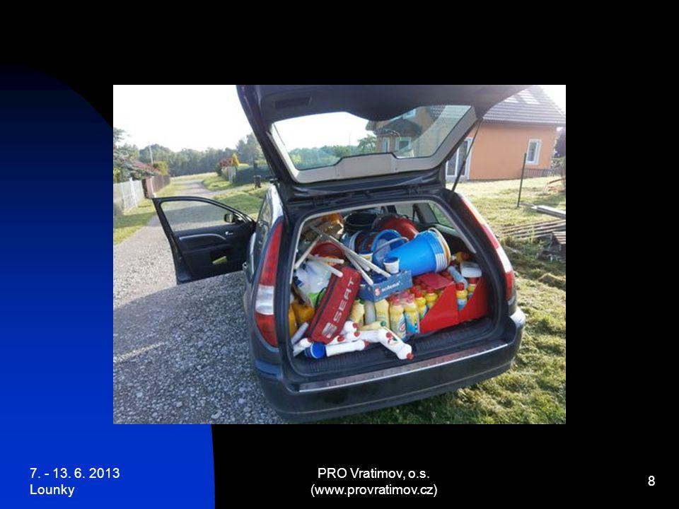 7.- 13. 6. 2013 Lounky PRO Vratimov, o.s. (www.provratimov.cz) 19 Paní Mgr.