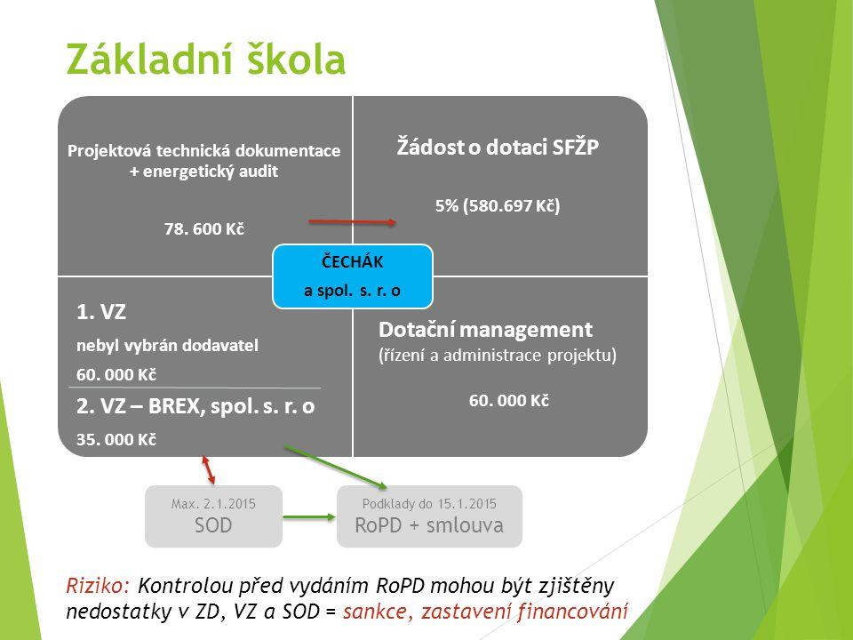 Poliklinika + MěÚ Projektová technická dokumentace + energetický audit 78.