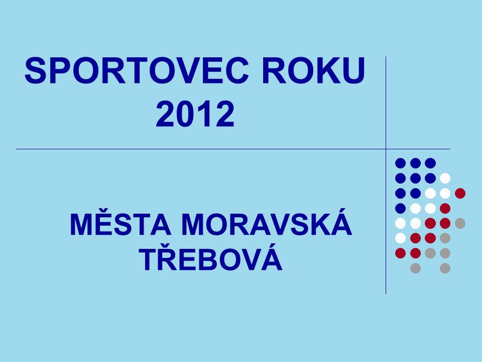 SPORTOVEC ROKU 2012 MĚSTA MORAVSKÁ TŘEBOVÁ