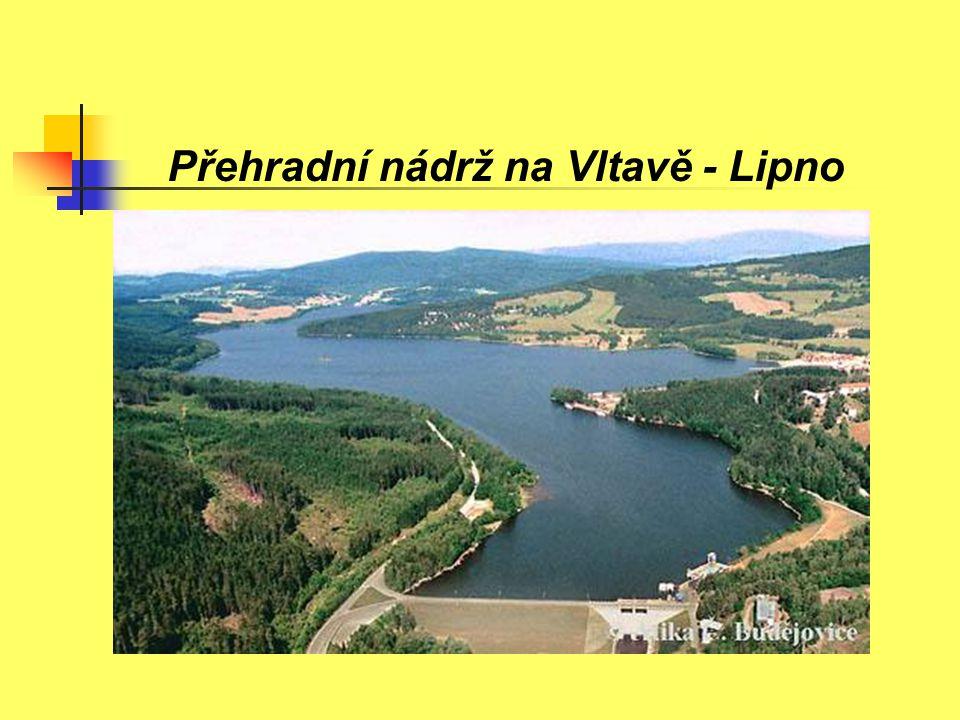 Přehradní nádrž na Vltavě - Lipno