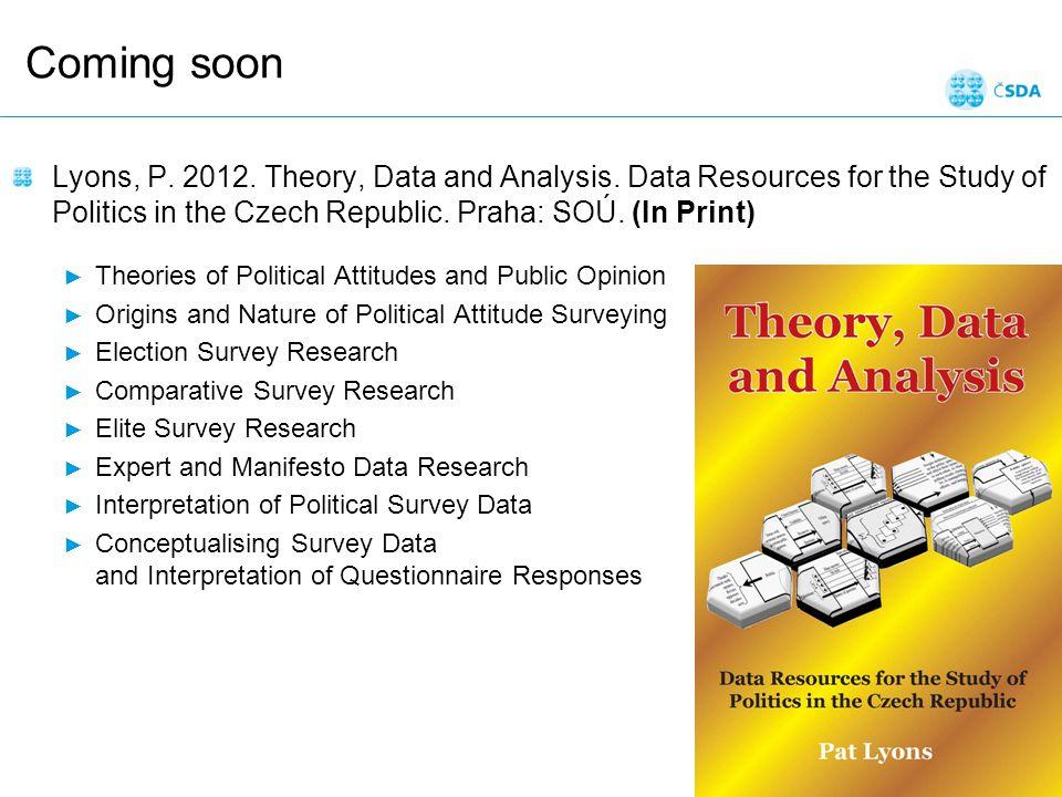Krejčí: Úvod do managementu dat; listopad 2012 Snímek 36
