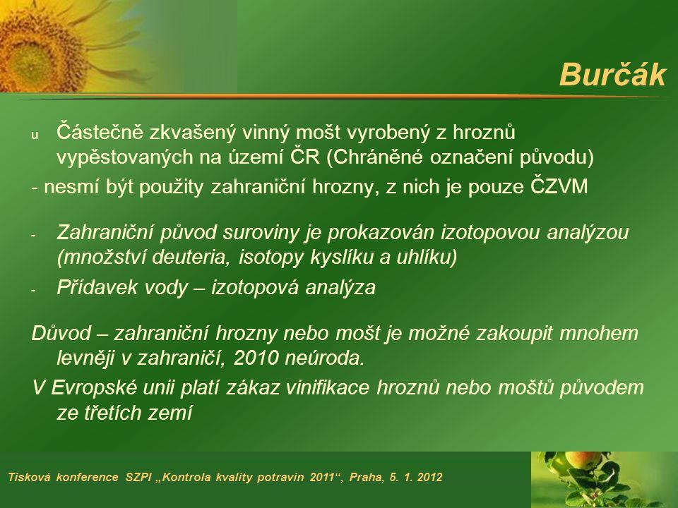 """Tisková konference SZPI """"Kontrola kvality potravin 2011 , Praha, 5."""