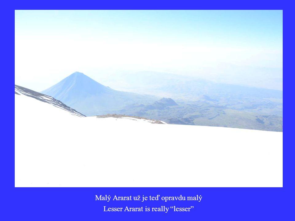 Malý Ararat už je teď opravdu malý Lesser Ararat is really lesser