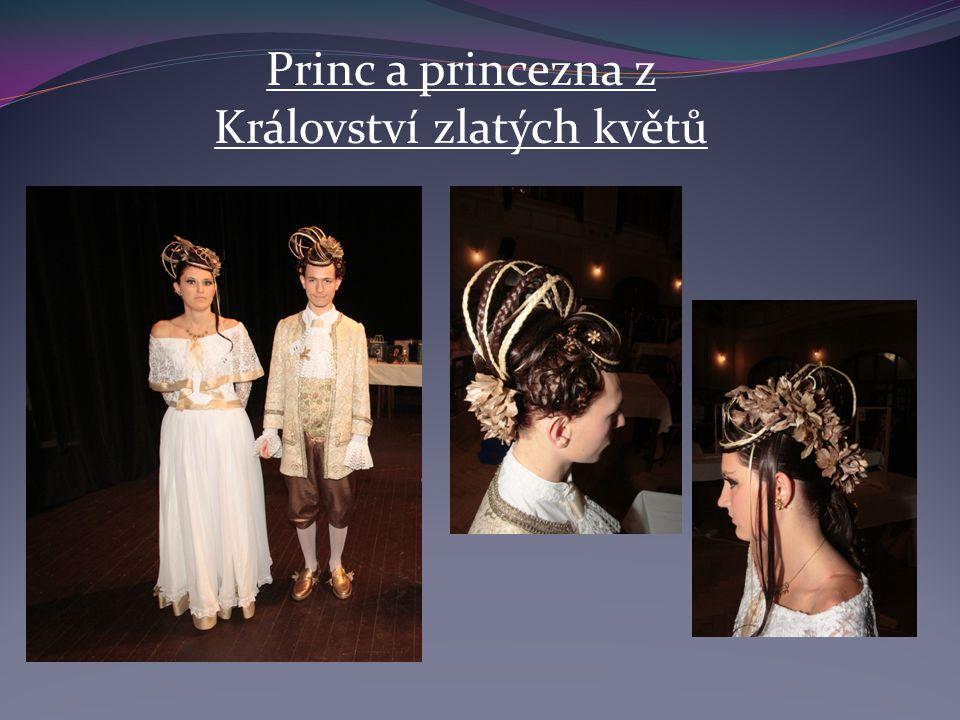 Princ a princezna z Království zlatých květů