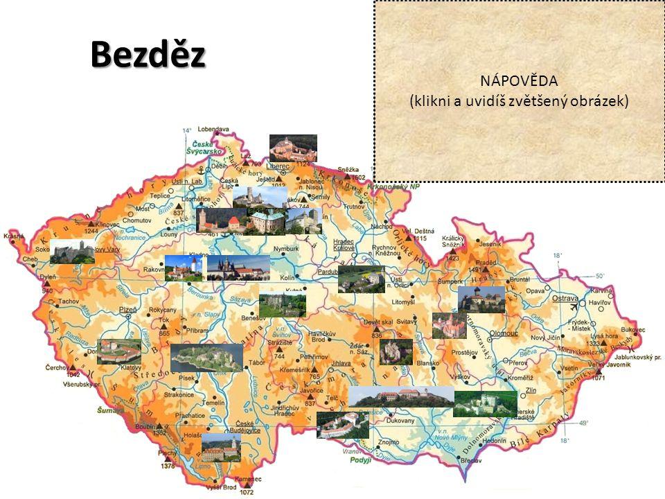 Praha NÁPOVĚDA (klikni a uvidíš zvětšený obrázek)