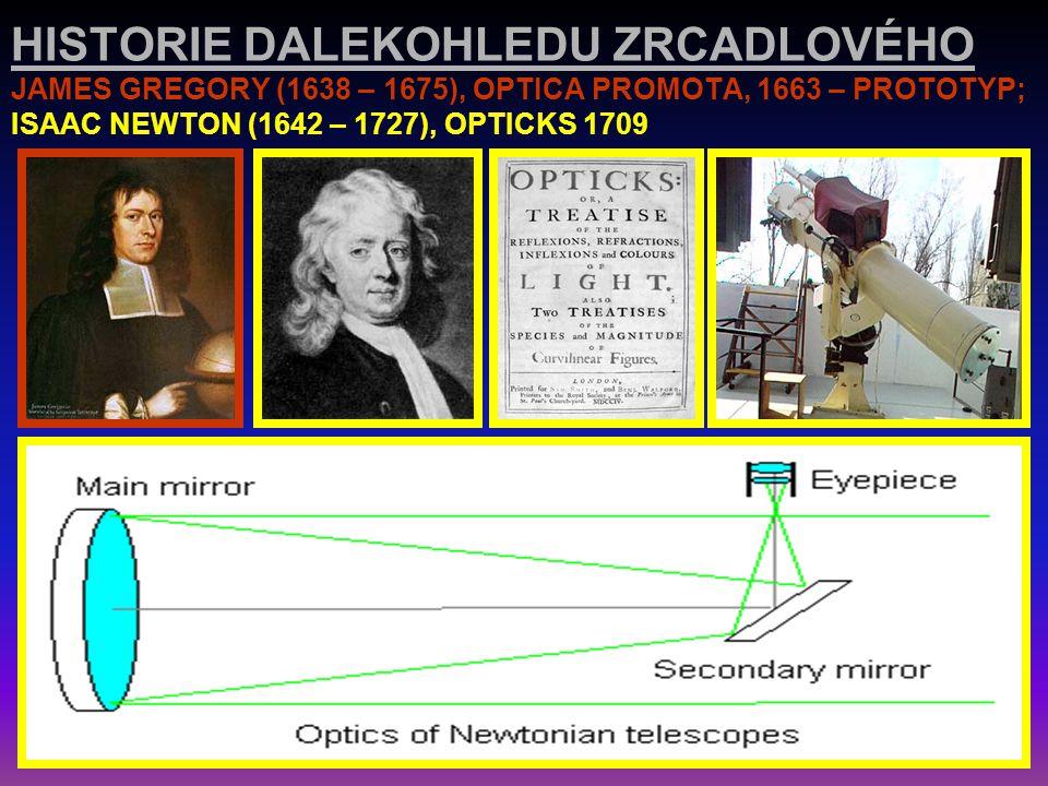 HISTORIE DALEKOHLEDU ČOČKOVÉHO JOHANNES KEPLER (1571 – 1630): DIOPTRICA (1611) A JEHO DALEKOHLED SE KTERÝM V ROCE 1604 POZOROVAL JEDNU ZE TŘÍ SUPERNOV