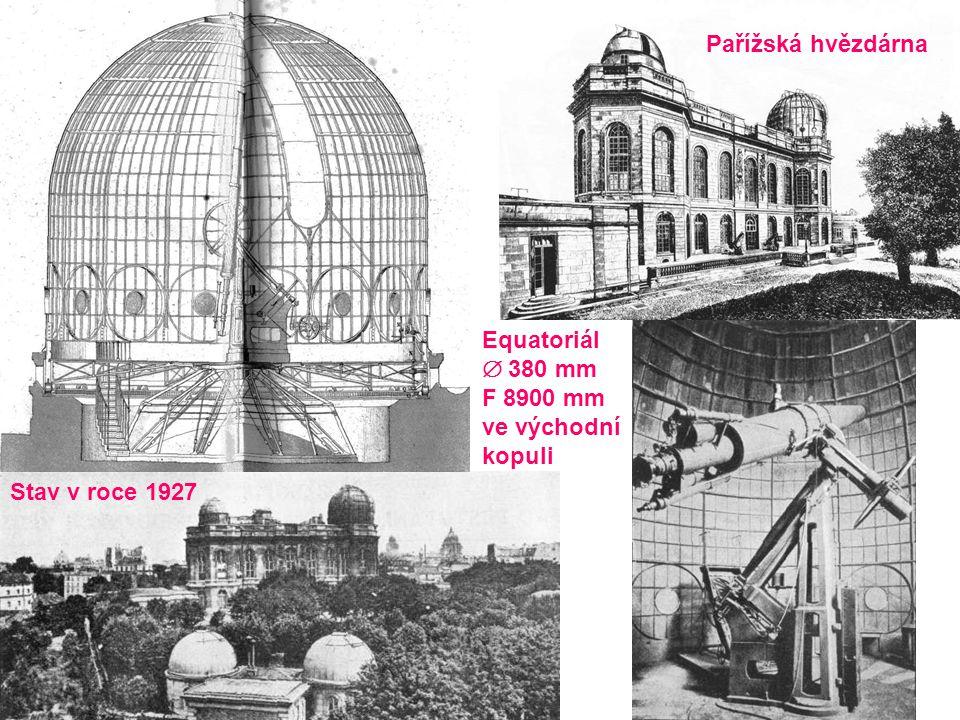 rok 1783  46 cm F = 6,32 m rok 1789  122 cm F = 12,64 m William Herschel * 1738 † 1822 objevitel Urana, Arielu, Umbrielu, Titanie, Oberonu, Encelada a Mimase M51 podle Johna Herschela