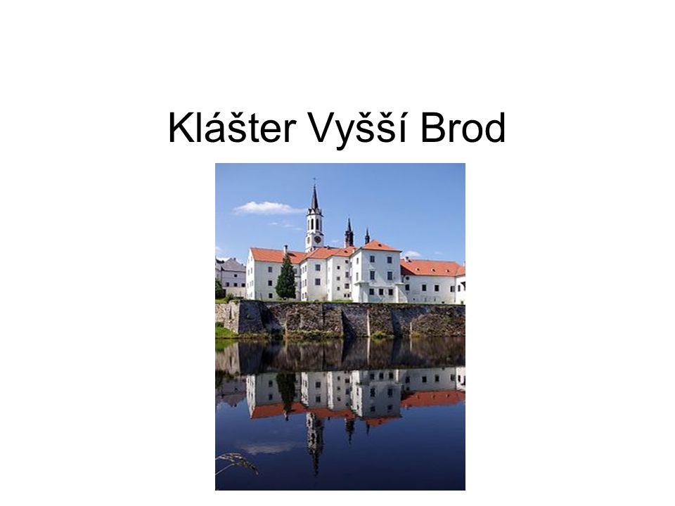 K největším mecenášům kláštera patřil ve 14.stol.