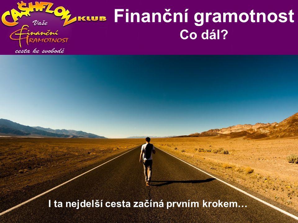 D P I n d e x Co dál? I ta nejdelší cesta začíná prvním krokem… Finanční gramotnost Co dál?