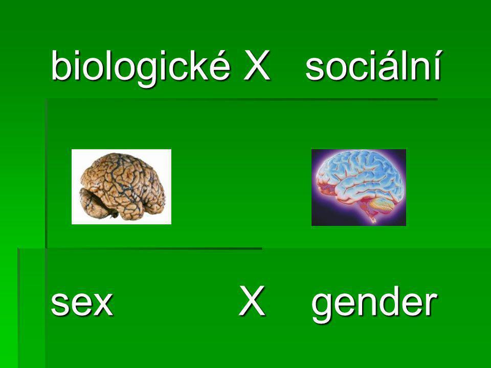 mozek ženy mozek muže  Rozdíl:  Donedávna přisuzován pohlavním hormonům  Před 4 lety prokázáno, že rozdíly se projevují dříve, než se v embryonálním vývoji začnou tvořit a uvolňovat