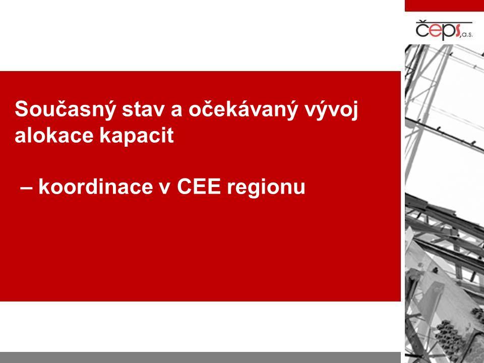 Koordinace v CEE regionu Koordinovaná aukce 5 TSO Koordinovaná aukce CEE regionu CAO
