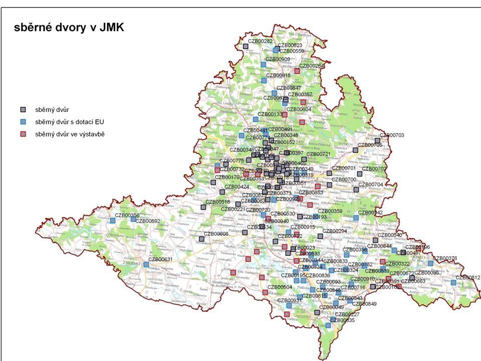 Pilotní projekt odděleného svozu bioodpadu srpen 2009 - zahájení pilotního projektu odděleného svozu BRKO ve dvou obcích zúčastněné obce - Dambořice ~ 1 200 obyv.
