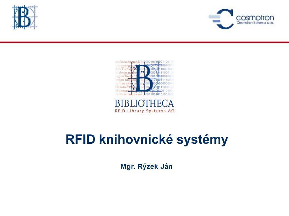 Nové – decentralizované RFID řešení