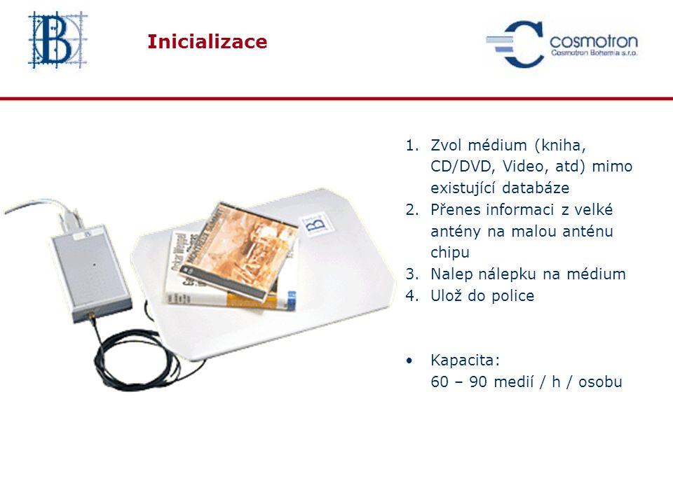Samoobslužní stanice Selfcheck Jupiter Integrovaná tiskárna Integrovaná čtečka ISO 15693 Volitelná čtečka čárového kódu Volitelná čtečka ISO14443 ( Mifare cart)