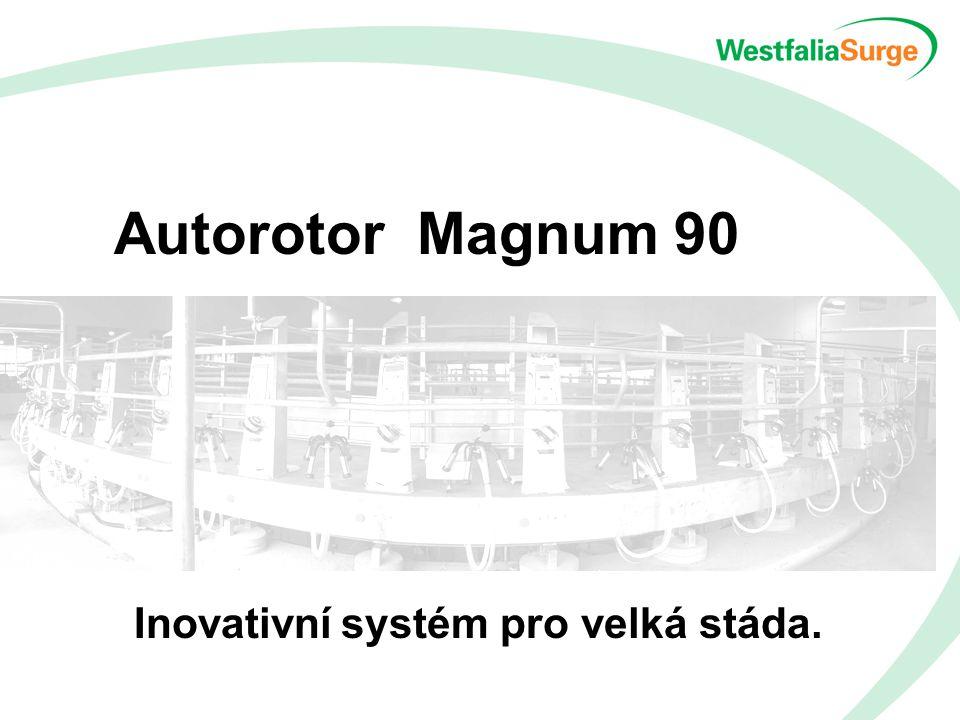 Autorotor Magnum 90 Inovativní systém pro velká stáda.