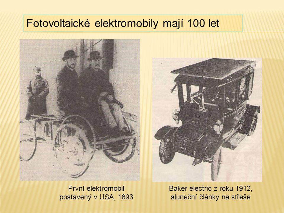 Elektromobil Thomase Edisona 1913 Elektromobil Františka Křižíka 1895 (3,7 kW) Třetí Křižíkův elektromobil byl plugin-hybrid se dvěma motory na zadních kolech.
