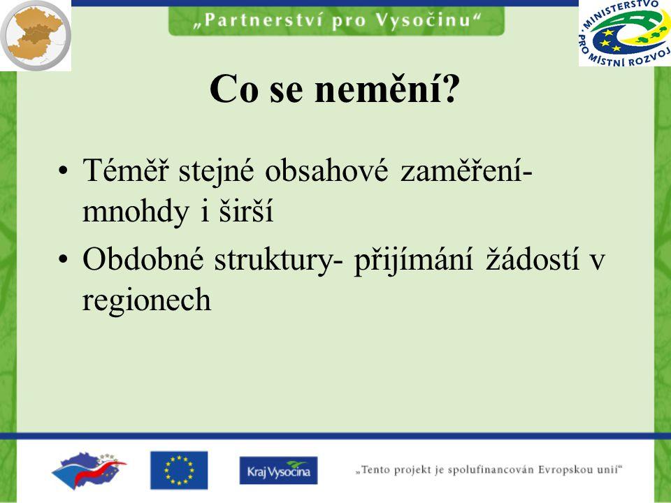 Lead partner princip (1) čl.19 Nařízení ERDF Projekt musí zahrnovat příjemce nejméně ze dvou zemí a musí splnit minimálně 2 ze 4 kritérií: společná příprava, společná realizace, společné financování, společný personál.