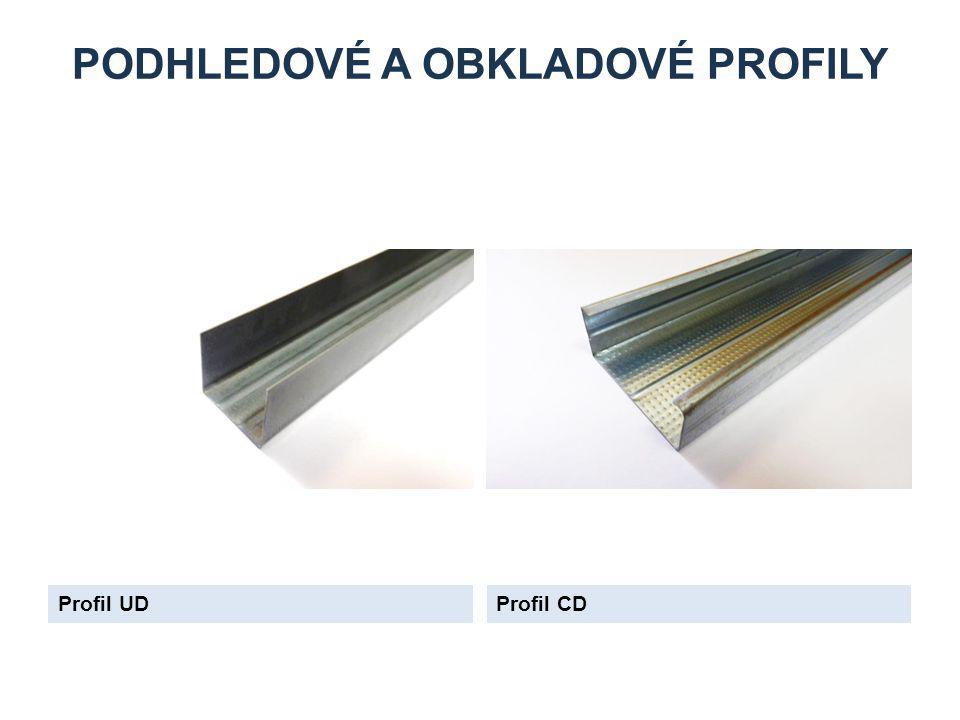 PODHLEDOVÉ A OBKLADOVÉ PROFILY Profil UDProfil CD