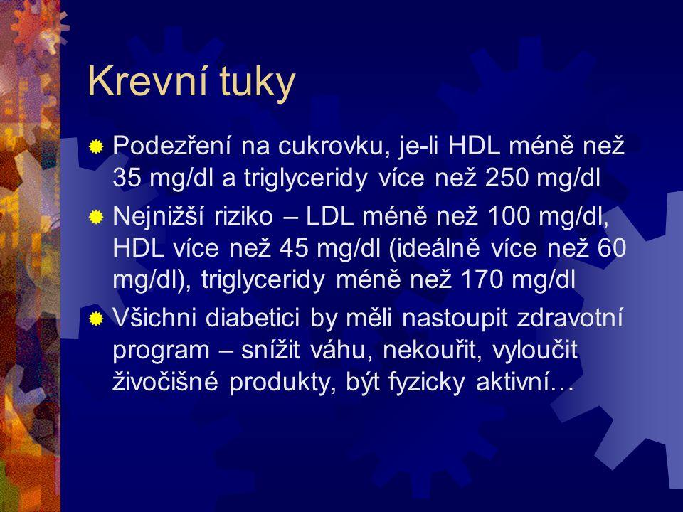 Inzulínová resistence…  Inzulínová resistence byla nezávislým předpovědním faktorem všech klinických příhod (cukrovka, vysoký krevní tlak, KVO, mozko