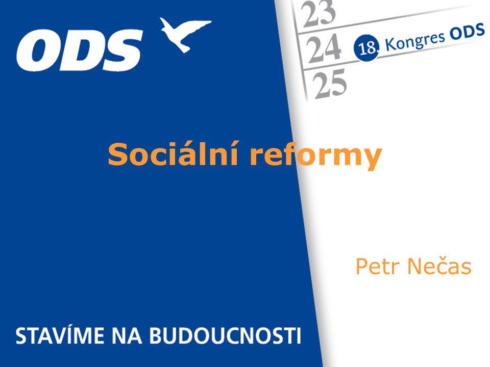 Petr Nečas Sociální reformy