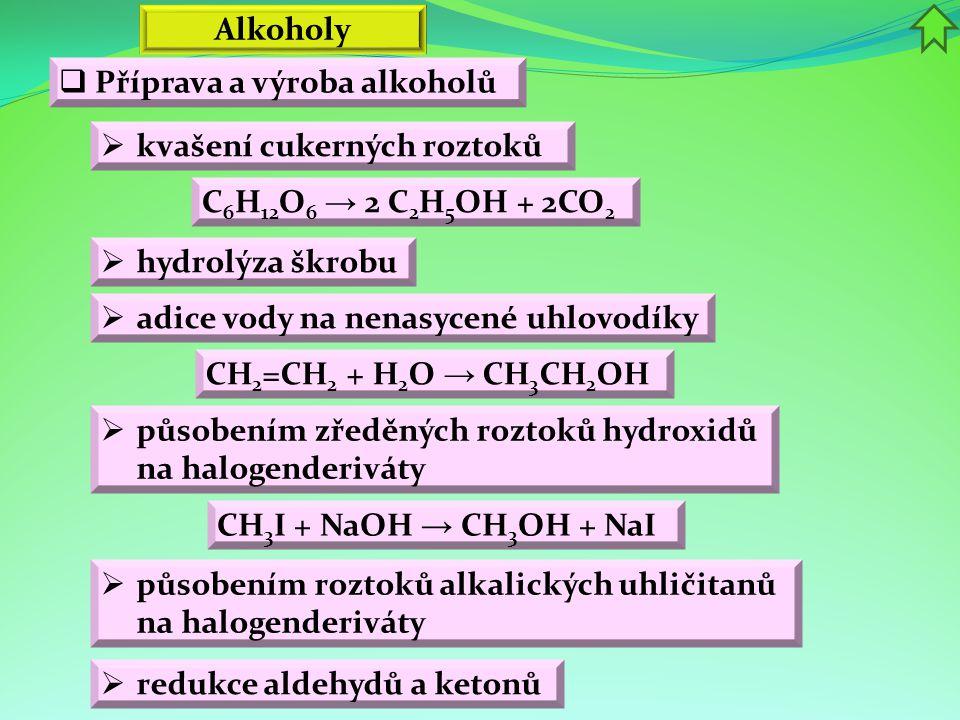  Oxidace etanolu probíhá v játrech ve dvou stupních.