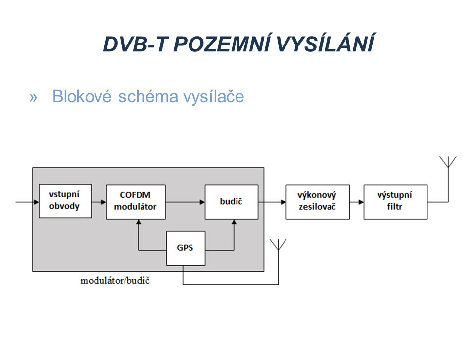 DVB-T2 POZEMNÍ VYSÍLÁNÍ »Výhody proti DVB-T »vyšší datový tok »maximálně ostrý obraz »realističtější přechody mezi barvami »syté barvy »až 5x podrobnější vizuální informace