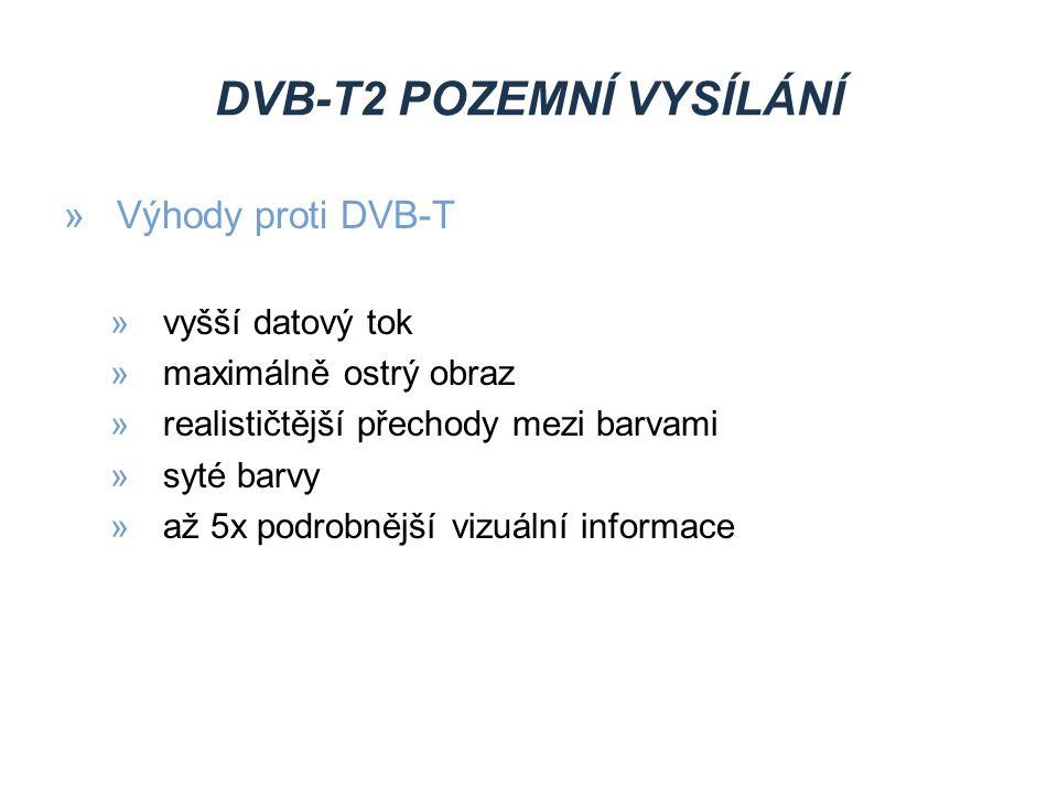 DVB-C KABELOVÉ VYSÍLÁNÍ Výhody »není nutné zapojovat ani nastavovat anténu »velká programová nabídka programové balíčky Nevýhody »programy jsou často kódovány