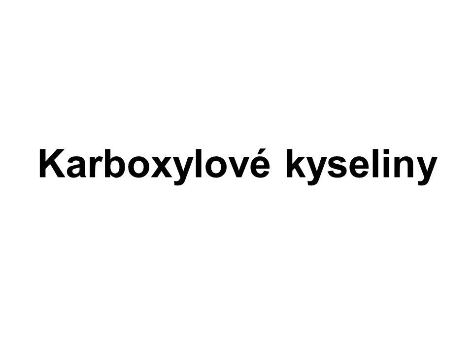 Karboxylové kyseliny