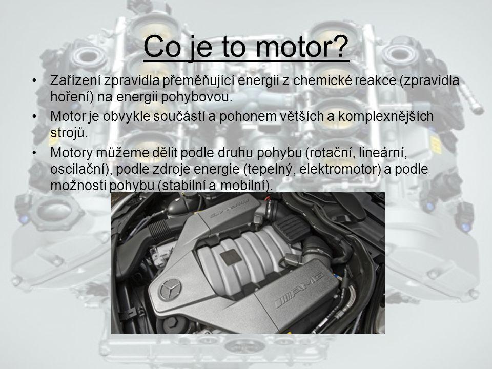 Co je to motor.