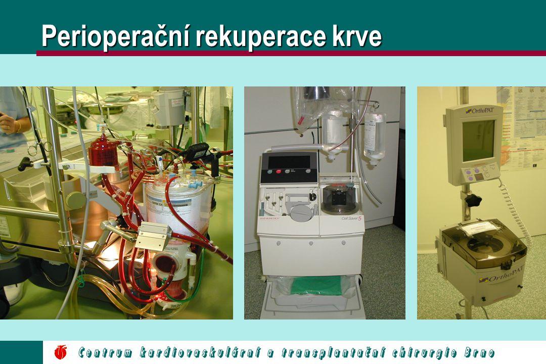 Perioperační rekuperace krve