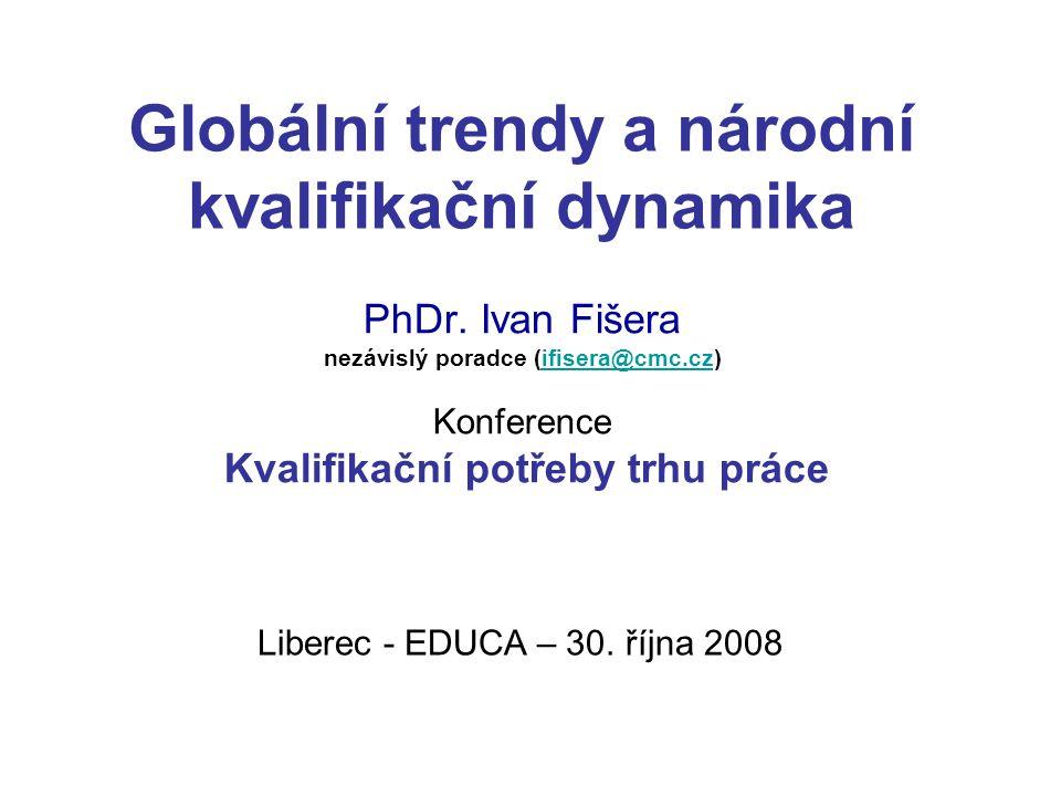 Globální trendy a národní kvalifikační dynamika PhDr.