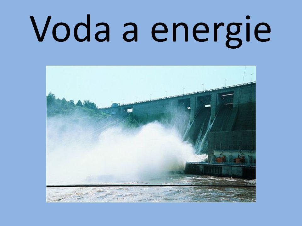 Voda a energie