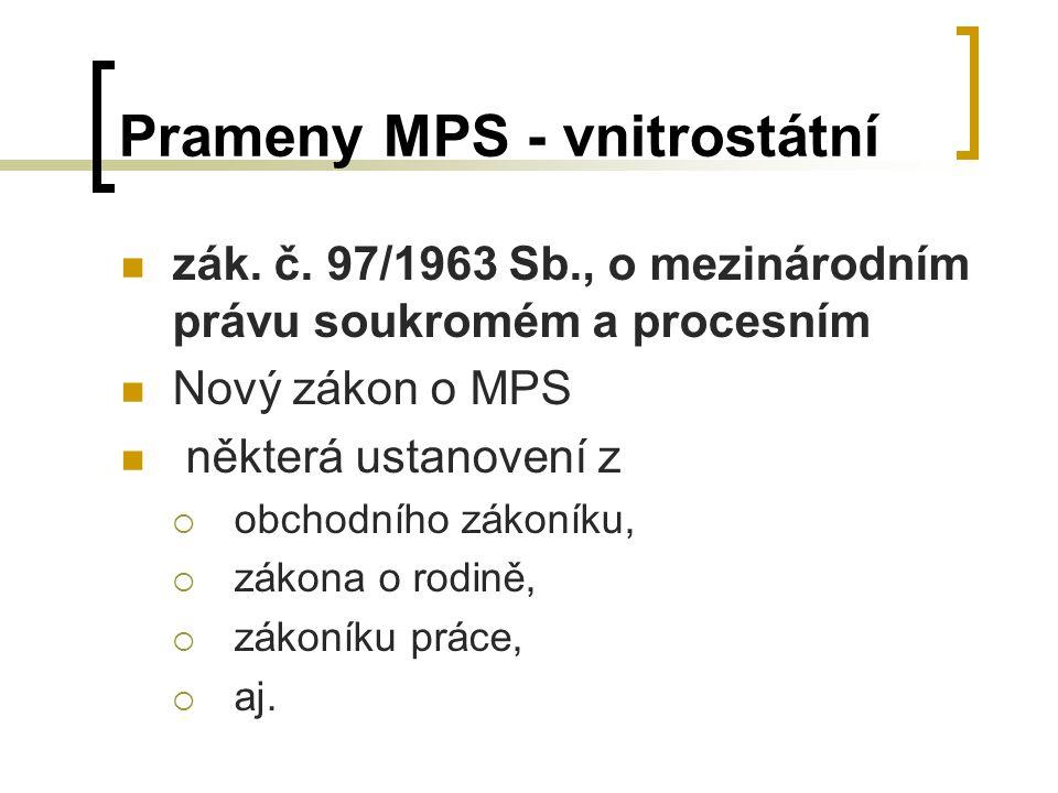 Prameny MPS - vnitrostátní zák.č.